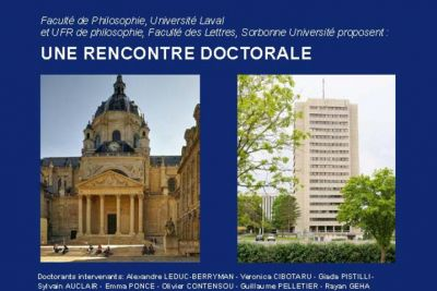 Rencontre doctorale